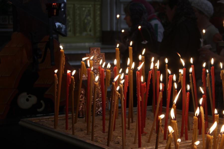 Радоница в Кафедральном соборе Христа Спасителя