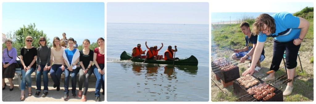 Поездка к морю Воскресной школы для взрослых